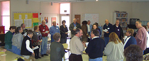 Diversity Training, St. Paul's Sparks, March  3, 2007