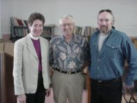 Bishop Katharine, Allen Duke, Eric Heidecker
