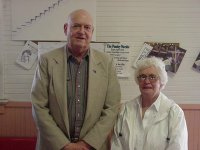 Wally Trapnell, Estelle Shanks