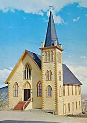 Virginia City Episcopal Church building c.1862